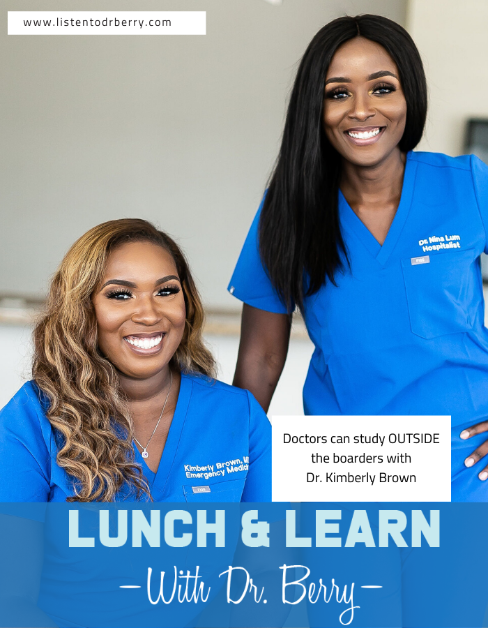 stillMD, Dr. Kimberly Brown, Lunch and Learn with Dr. Berry