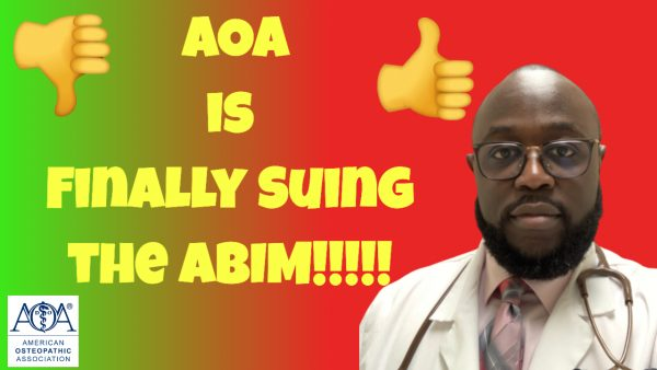 medicine mondays, AOA suing ABIM,ABIM,AOA